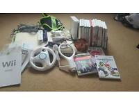 Wii Nintendo bundle with games
