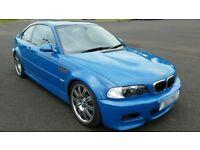 BMW E46 M3 VERY RARE LAGUNA SECA BLUE *FULLY LOADED*
