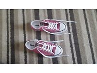 Pink Sequin Ladies All Star Converse