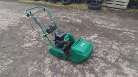 Qualcast petrol cylinder mower