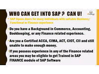 SAP FINANCE TRAINING FOR ACCOUNTING PROFESSIONALS £500 WITH JOB ASSURANCE , EARN MINIMUM £15 /HOUR
