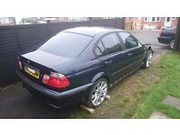 Breaking bmw 318 for spares e46