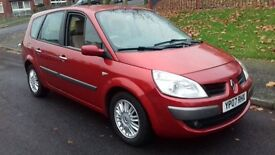 Renault Grand Scenic 2007 auto 10 months mot low mileage full service history