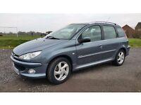 Swap Peugeot 206 1.6 Diesel Estate For MPV/Van.