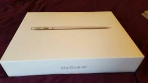 MACBOOK AIR 13 INCH TOUCH ID (2018) 1.6GHz DUAL CORE 256GB SSD GOLD NEW SEALED W/ 1 YEAR APPLE WARRANTY FLAT 1599