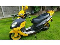 Strada rx50cc moped. Runs but needs work. Read notes before calling. Can deliver
