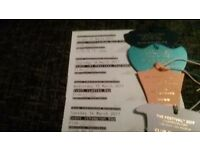 Tickets for 4 days of Cheltenham festival at club enclosure in march golg cup ticket includuded
