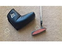 TaylorMade Black Oxide Nubbins B7's Putter with new head cover