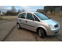 Vauxhall Meriva, Semi-Auto, 1 Full year MOT
