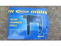 Cougar 400W Hammer Drill