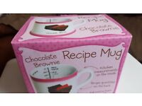 Bluw Chocolate Brownie Mix Recipe Measuring Mug Ideal Christmas Present