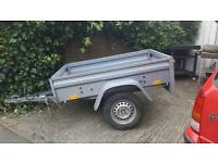 Brenderup bravo car trailer