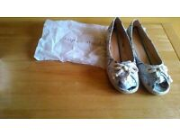 Size 6 summer shoes - brand new, boxed, never worn