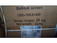 SHOWER / BATH SCREEN New unused still in box