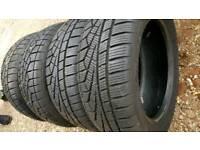 4 x tyres 195 55 r15, winter / all seasons like new.