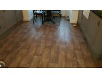 Lino oak like flooring
