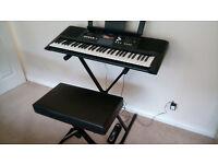 Yamaha PSR E333 Electronic Keyboard - Unused A1 Condition