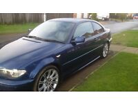 BMW 320cd M SPORT COUPE DIESEL LEATHER INTERIOR FULL SERVICE HISTORY NEW TURBO + HOSES FITTED