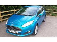 2015/65 FORD FIESTA 1.0 ECOBOOST TITANIUM 1 PRIVATE OWNER FORD WARRANTY TO 12/18 COST £17,665 NEW