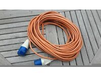 CARAVAN or MOTORHOME 25 metre POWER CABLE