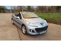 2011 Peugeot 207 CC 1.6 HDi FAP Sport 2dr HPI Clear New MOT **JUST SERVICED**