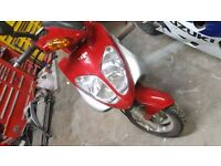 Sym shark 50cc moped scooter exelent conditio