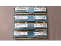 Dell 8GB 4Rx4 PC2 - 5300F - 555 Server Memory