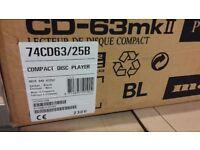 Marantz CD63 MkII CD player