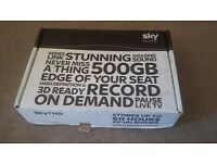 SKY +HD Box Slimline DRX890C Amstrad with Box