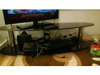 Glass tv table for sale £30