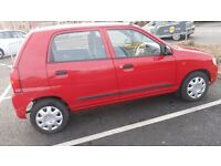 2005 suzuki alto 1.1 gl very low mileage excellant condition low tax low insurance
