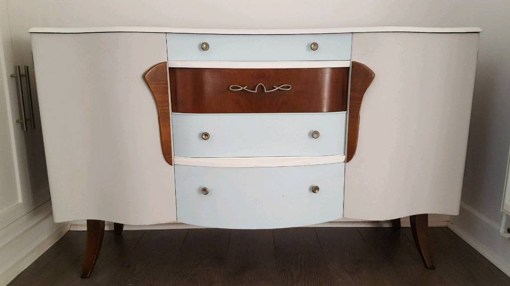 Upcycled 1950s side board.