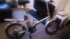 unisex Electronic bike with Extras