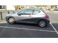 Peugeot 207 1.4 diesel mot to august