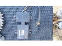 Aprilia rs 125 cdi box and power Valve unit full power