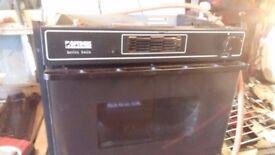 Optimus 6060 Black oven for caravan Motorhome ETC