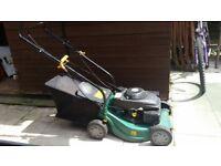 Petrol Lawnmower (has a slight fault, please read)