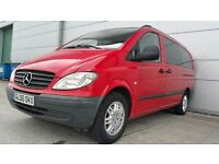 2006 | Mercedes Vito | 8 seater | 2.2 Diesel Manual | Sat Nav | Leather | Reverse Cam | New Clutch
