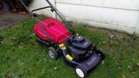 Petrol big lawnmower garden