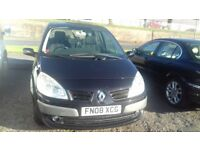 2008 Renault scenic grande diesel (low mileage 82k) £1250 mot October any inspection welcome