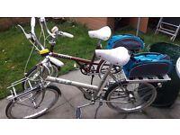 Vintage shopper style bikes