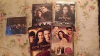 Série DVD twilight et cd