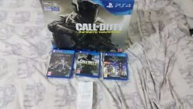 Playstation 4 (PS4) 500gb Boxed with 4 games + £20 CEX Voucher