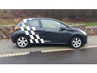 Peugeot 208 1.2 PureTech Active 3dr. like polo up or c1 c3 tax only 20 excellent condition