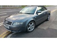 FANTASTIC AUDI CONVERTABLE A4 SPORT 2.4 V6 MANUAL,LOW MILES FULL SERVICE,EXCELLENT RUNNER,FAST!!!