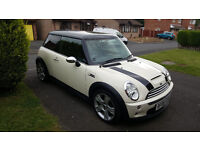 2006 Mini Cooper S 1.6 Petrol, Very good condition, 5 stamps, 1 Year MOT, Leather interior,