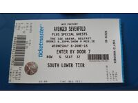 Avenged sevenfold ticket