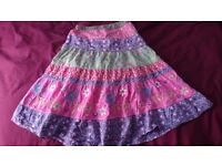 Girls skirts and dresses - AGE 7 years