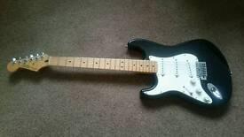 Fender stratocaster left handed Mexico