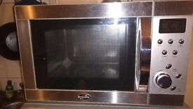 Breville BRE997SSG microwave oven with grill